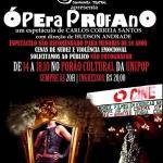 """Espetáculo """"Ópera Profano"""" é assumidamente militante, diz autor"""