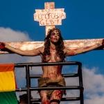 Mais sobre a trans crucificada na Parada, ou A blasfêmia que não existe