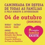 Belém terá caminhada contra o Estatuto da Família nesse domingo
